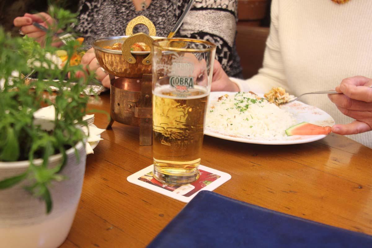 Indisches Bier - Fuchshöhl • Punjabi Haveli